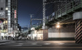 Below Yamanote Line