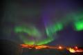 Grünes Licht — Aurora Borealis