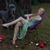 """Blogbeitrag """"Andrea Sawatzki und Dogge Gustav in Ihrem Berliner Garten"""""""