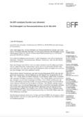 """Newsbeitrag """"Die BFF-Justiziarin Dorothe Lanc informiert zur DSGVO: Die Zulässigkeit von Personenaufnahmen ab 25. Mai 2018"""""""