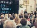BFF Vorstand Frank Stöckel eröffnet die Preisverleihung des Neuen BFF Förderpreises ©Marie Hölscher