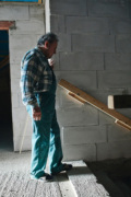 Der blinde Mann und sein Haus