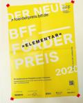 """Newsbeitrag """"Der Neue BFF-Förderpreis 2020"""""""