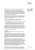 """Newsbeitrag """"Die BFF-Justiziarin informiert zu den Folgen des Corona-Virus – Teil I"""""""