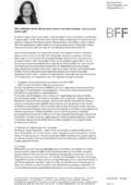 """Newsbeitrag """"Die BFF-Justiziarin informiert zu den Folgen des Corona-Virus – Teil IV"""""""