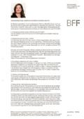 """Newsbeitrag """"Die BFF-Justiziarin informiert zu den Folgen des Corona-Virus – Teil VI"""""""