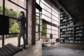 A loft to live – CGI interior production with additional people shooting