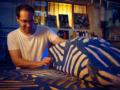 Zu Gast im Atelier von Hendrik Zimmer